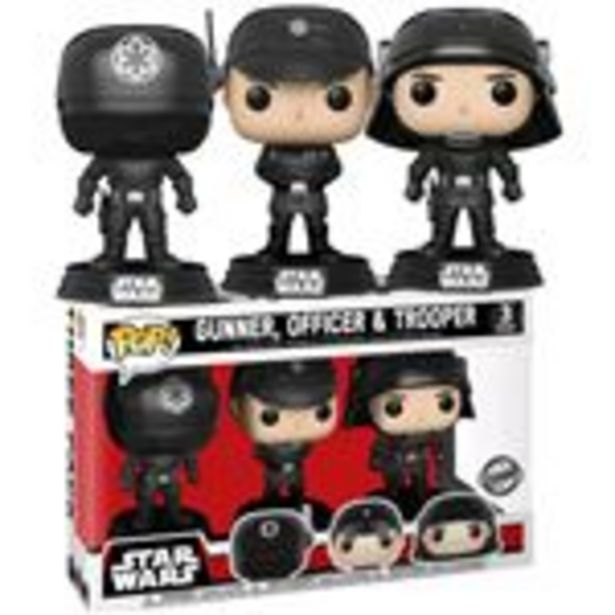 Oferta de Pack 3 Figuras Funko Pop! Star Wars Gunner Officer & Trooper por 36,99€