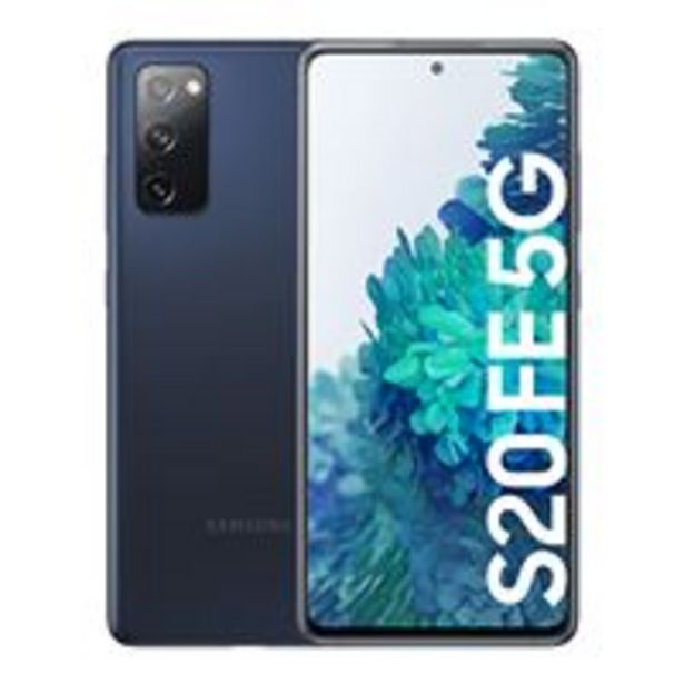 Oferta de Samsung Galaxy S20 FE 5G 6,5'' 256GB Azul por 699€