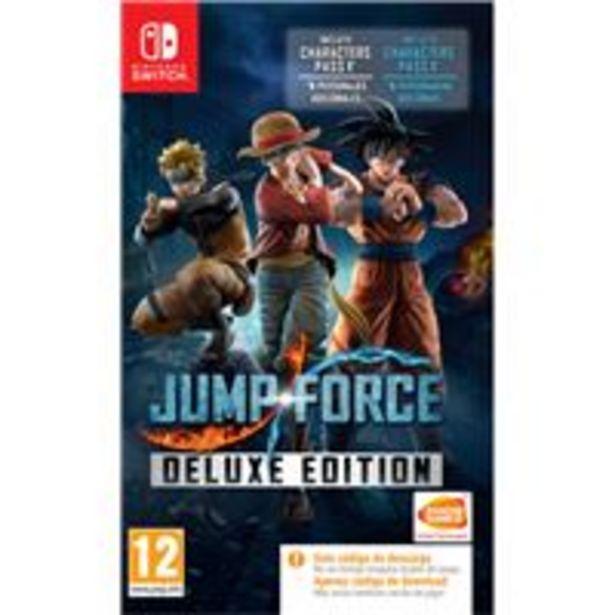 Oferta de Jump Force Deluxe Edition Nintendo Switch por 29,99€
