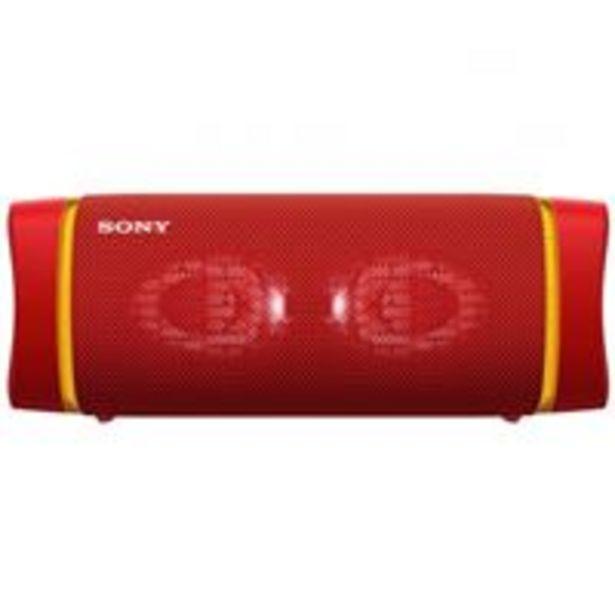 Oferta de Altavoz Bluetooth Sony SRS-XB33R Rojo por 129,9€