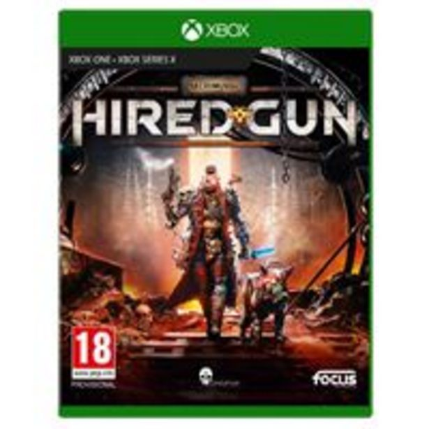 Oferta de Necromunda Hired Gun Xbox Series X / Xbox One por 26,99€
