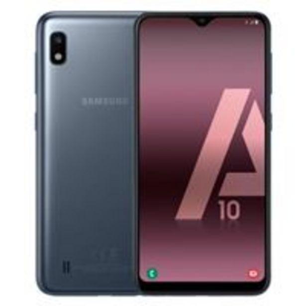Oferta de Samsung Galaxy A10 6,2'' 32GB Negro por 129,9€