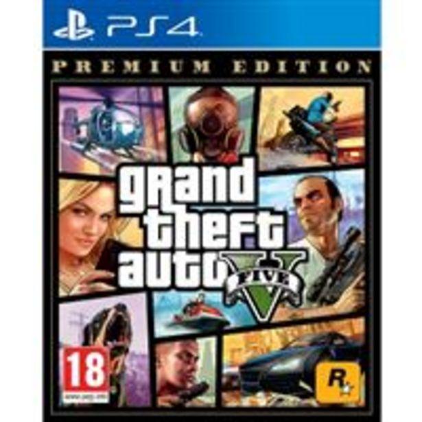 Oferta de Grand Theft Auto V Premium ED - PS4 por 17,99€