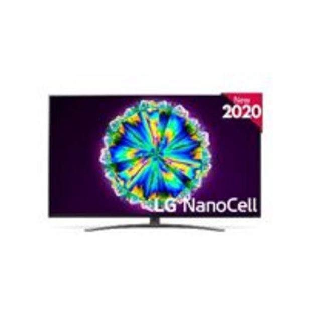 Oferta de TV LED 65'' LG Nanocell 65NANO866 IA 4K UHD HDR Smart TV por 899€