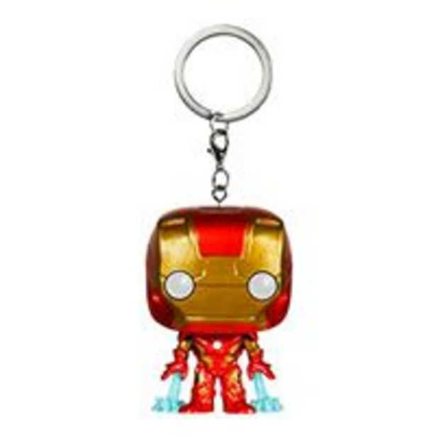 Oferta de Llavero Funko La Era de Ultrón - Iron Man por 1€