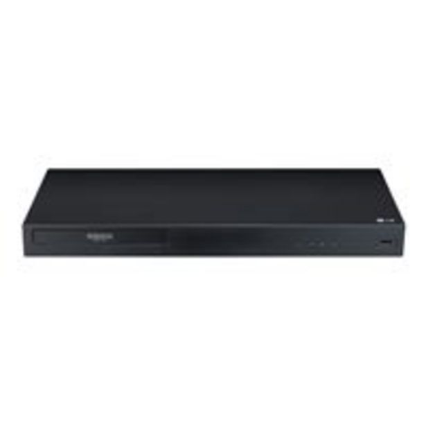 Oferta de Reproductor Blu-Ray LG UBK80 4K UHD HDR por 169,92€