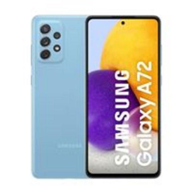 Oferta de Samsung Galaxy A72 6,7'' 256GB Azul por 399€