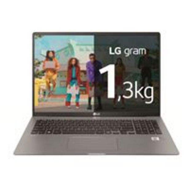 Oferta de Portátil LG Gram 17Z95N-G.AA78B 17'' Plata por 1299,9€
