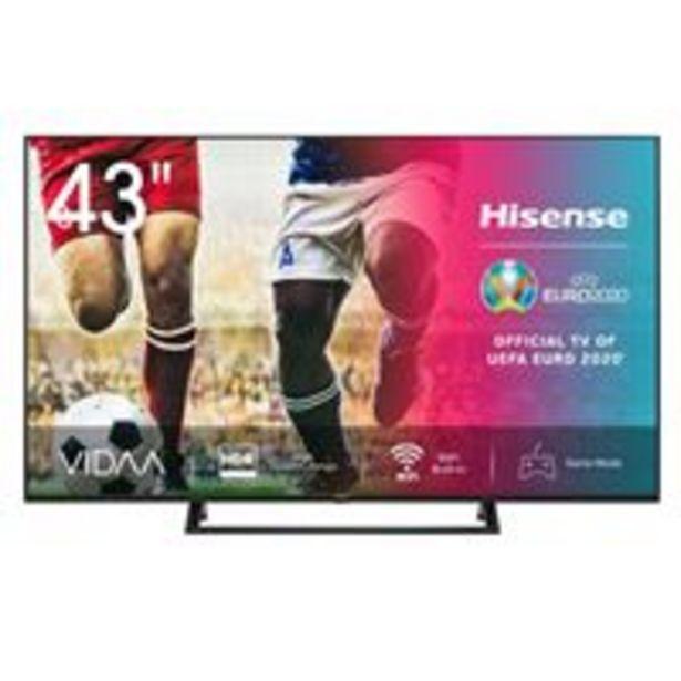 Oferta de TV LED 43'' Hisense 43A7300F 4K UHD HDR Smart TV por 349,9€