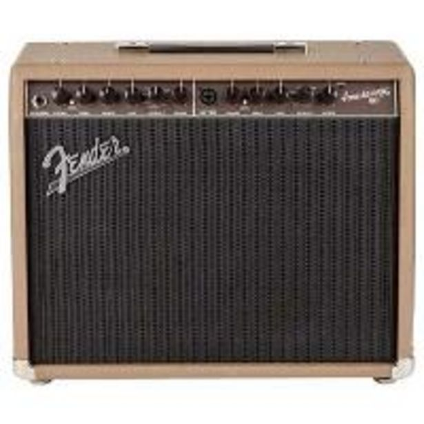Oferta de Amplificador Acoustasonic 90 combo Fender por 389,76€
