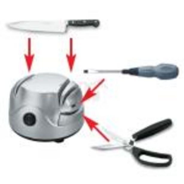 Oferta de Afilador eléctrico de cuchillos tijeras Lacor 69141 por 28,03€