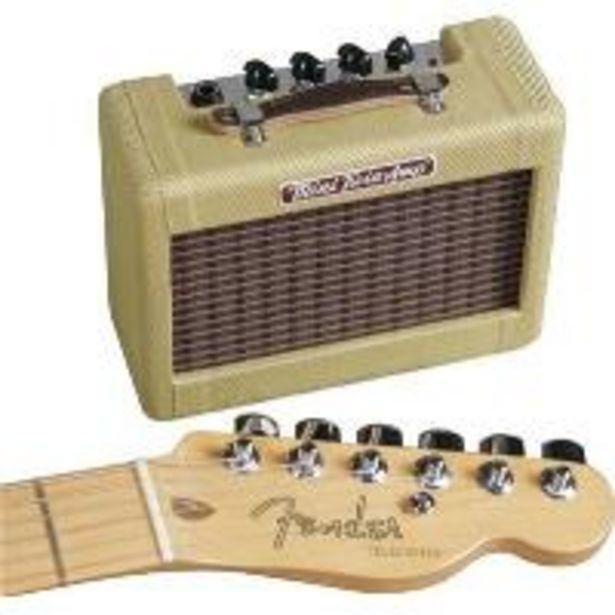 Oferta de Amplificador Fender Mini '57 Twin por 59,66€