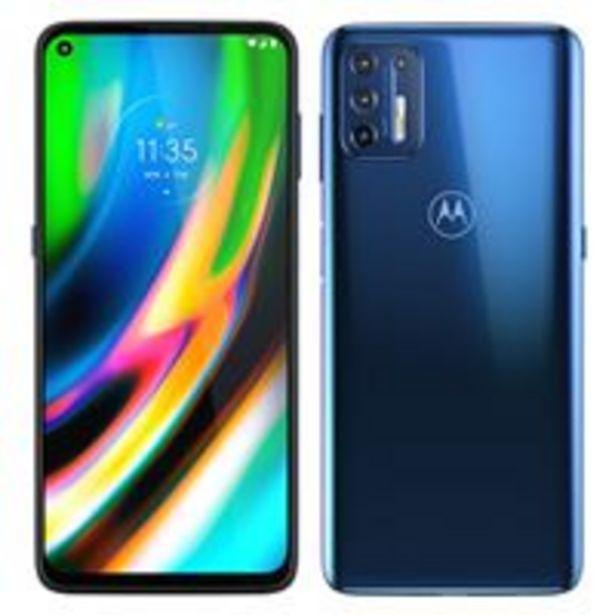 Oferta de Motorola Moto G9 Plus 6,8'' 128GB Azul por 219€