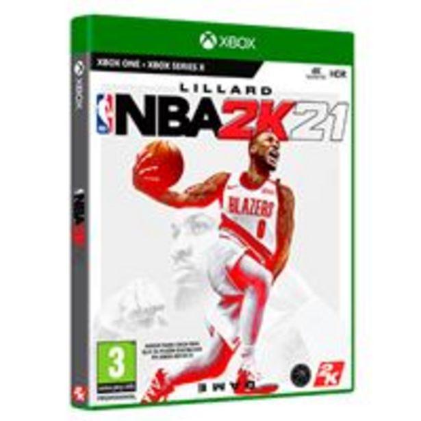 Oferta de NBA 2K21 Xbox One por 29,99€
