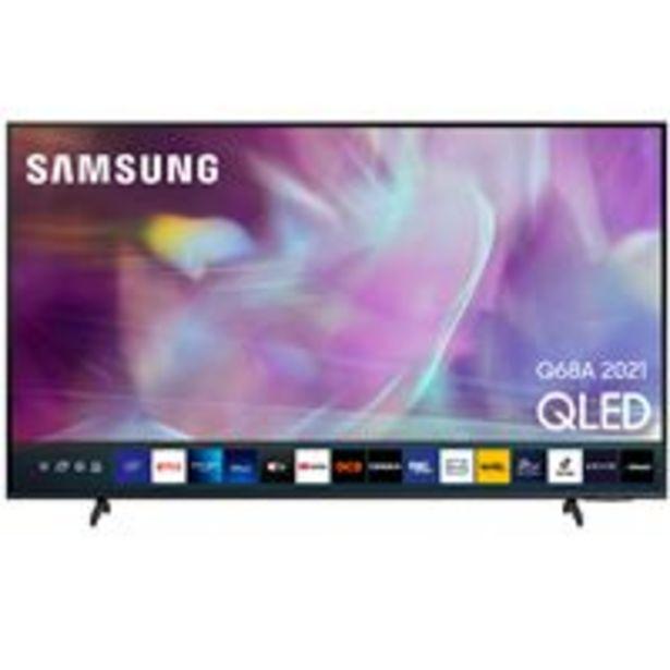 Oferta de TV QLED 50'' Samsung QE50Q68A 4K UHD HDR Smart TV por 679,9€