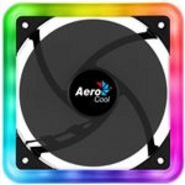 Oferta de Ventilador para PC 140mm Aerocool EDGE14 LED RGB Dual, Conector 6 pines por 21,75€