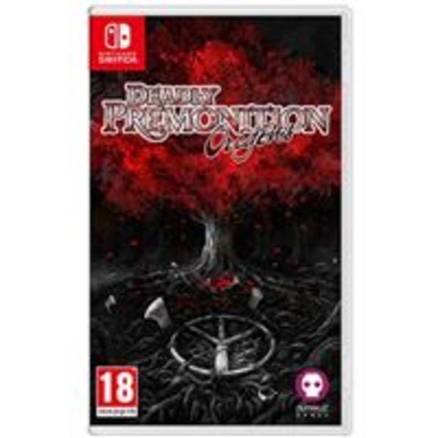 Oferta de Deadly Premonition Origins Nintendo Switch por 19,99€