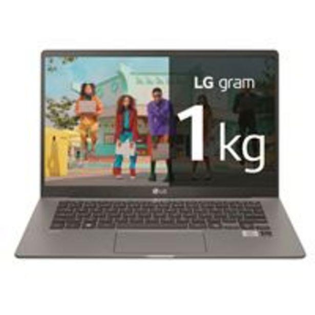 Oferta de Portátil LG Gram 14Z90N-VAR55B 14'' Plata por 979,9€
