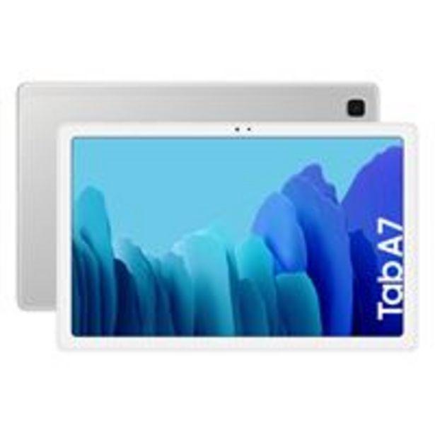 Oferta de Samsung Galaxy Tab A7 10,4'' 64GB Wi-Fi Plata por 229€