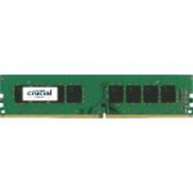 Oferta de Crucial - Memoria RAM de 16 GB (DDR4, 2400 MT/s, DIMM 288-pin, PC4-192000) por 63,75€