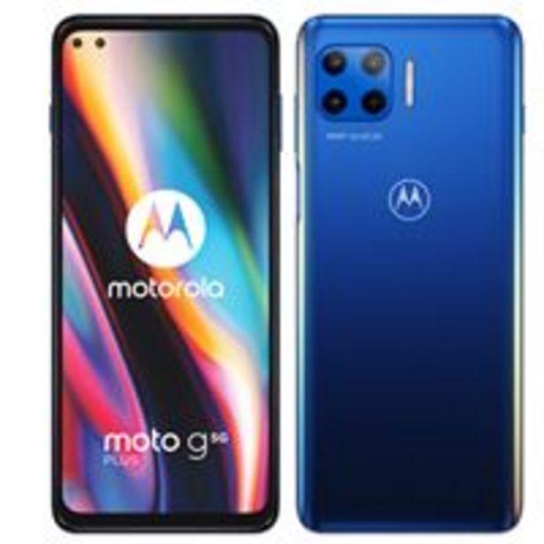 Oferta de Motorola Moto G 5G Plus 6,7'' 128GB Azul por 329,9€