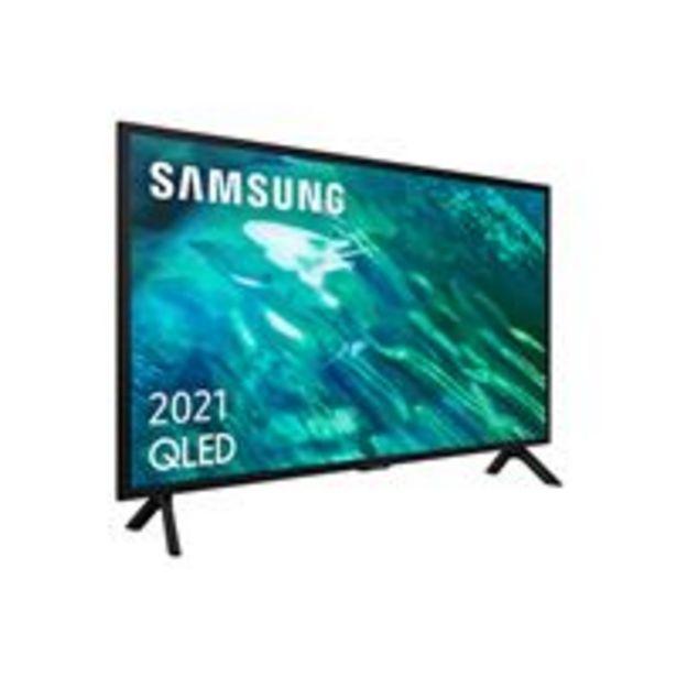 Oferta de TV QLED 32'' Samsung QE32Q50A Full HD Smart TV por 474,91€