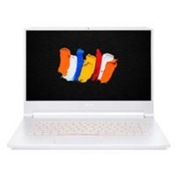 Oferta de Portátil ConceptD 7 Pro CN715-71P 32GB/1TB 15,6'' Blanco por 3223,27€