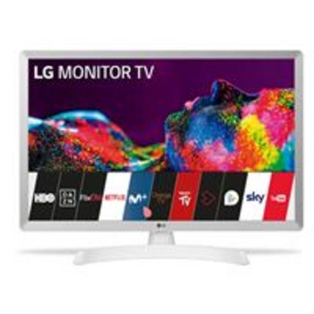 Oferta de TV LED 24'' LG 24TN510S-WZ HD Smart TV Blanco por 139,32€