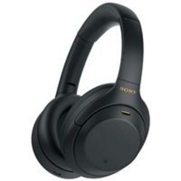 Oferta de Auriculares Noise Cancelling Sony WH-1000XM4 Negro por 303€