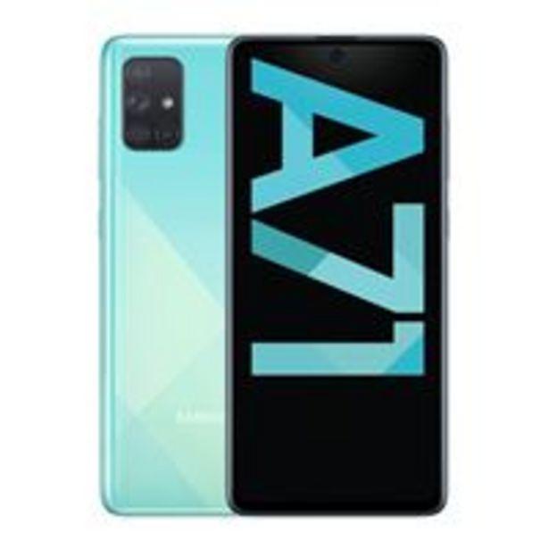 Oferta de Samsung Galaxy A71 6,7'' 128GB Azul por 369,9€