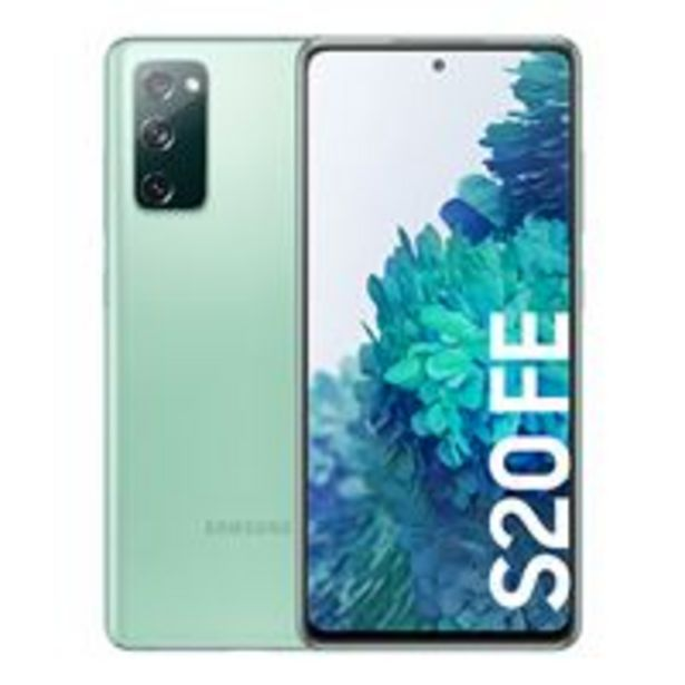 Oferta de Samsung Galaxy S20 FE 6,5'' 128GB Verde por 587€