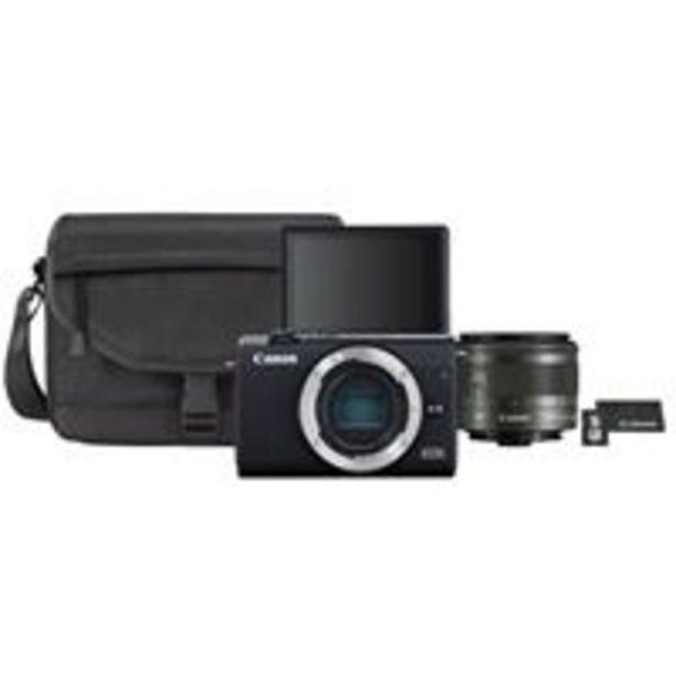 Oferta de Cámara EVIL Canon EOS M200 + 15-45 mm IS STM Kit por 549,9€