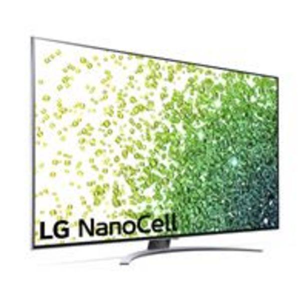 Oferta de TV LED 55'' LG NanoCell 55NANO886PB 4K UHD HDR Smart TV Plata por 899€