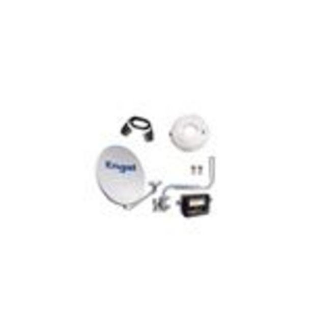 Oferta de Kit antena parabólica ENGEL 60CM+ LNB+LOCALIZADOR + KIT INSATAL. NO INCL. RECEPTOR AN0302E por 44,65€