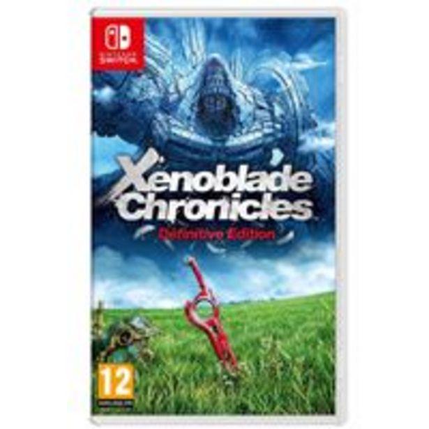 Oferta de Xenoblade Chronicles: Definitive Edition Nintendo Switch por 46,99€