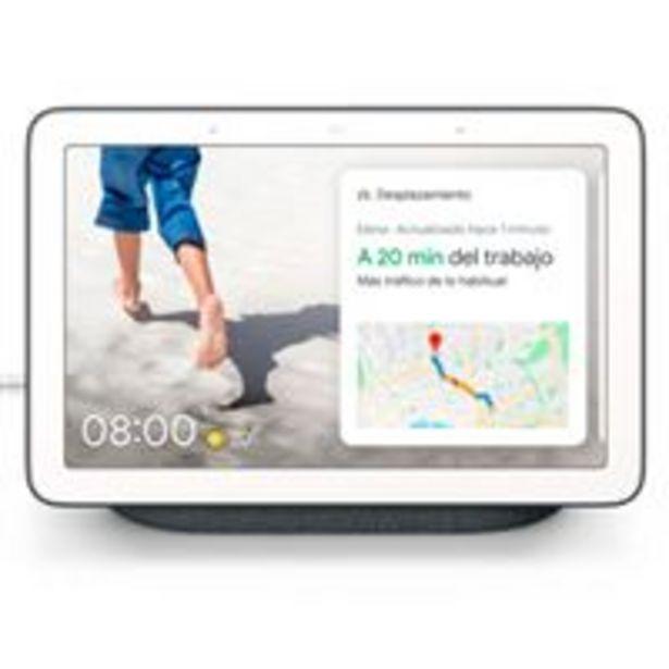 Oferta de Altavoz con Pantalla Wi-Fi Inteligente  Google Nest Hub Carbón por 65,97€