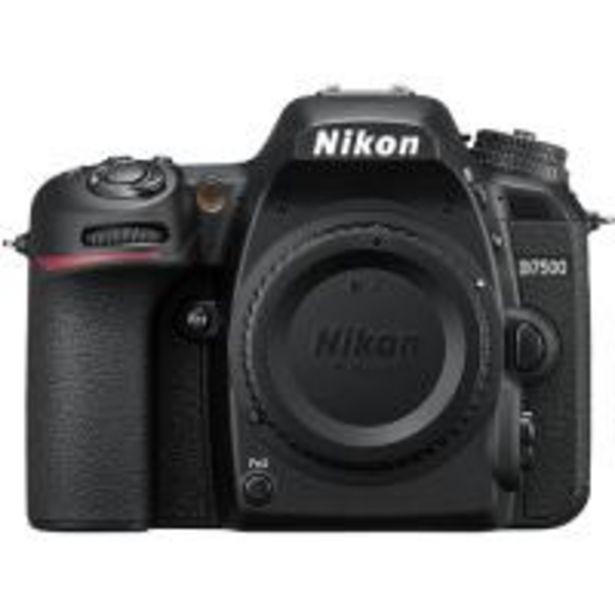 Oferta de Cámara Réflex Nikon D7500 Body por 1149,9€