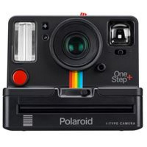 Oferta de Cámara instantánea Polaroid OneStep+ Negro por 119,9€
