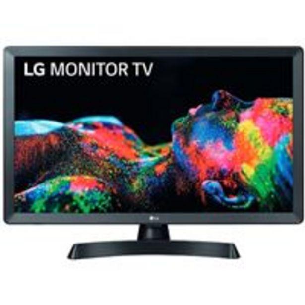 Oferta de TV LED 24'' LG 24TL510S-PZ HD Smart TV por 149€