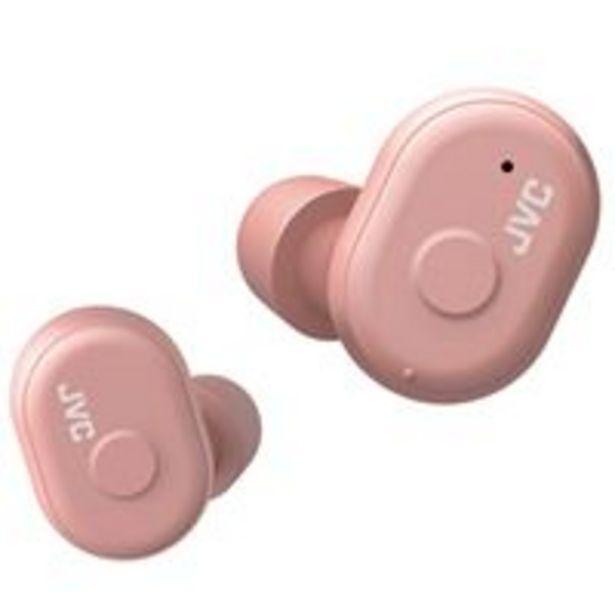 Oferta de Auriculares Bluetooth JVC  JVC HA-A10T-P Rosa por 39,97€