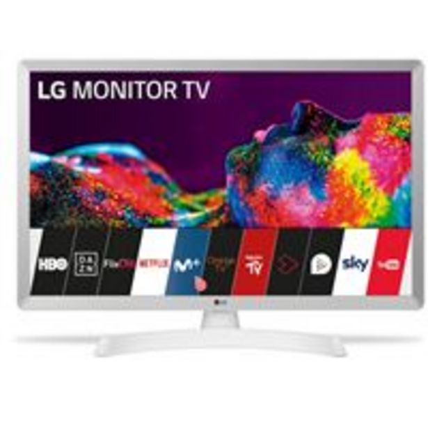 Oferta de TV LED 28'' LG 28TN515S-WZ HD Smart TV por 221,41€