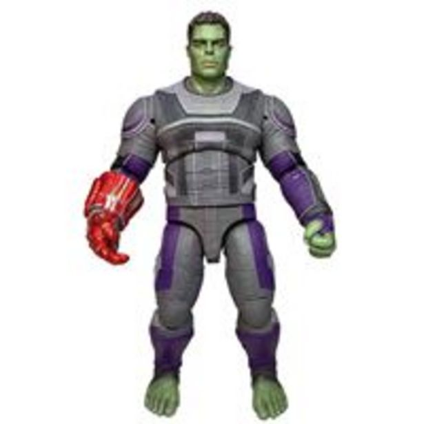 Oferta de Figura Marvel Los Vengadores Endgame - Hulk con traje por 20€