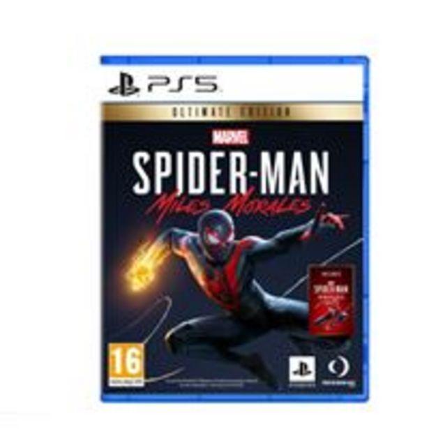 Oferta de Marvel's Spiderman Miles Morales Ultimate Edition PS5 por 64,99€