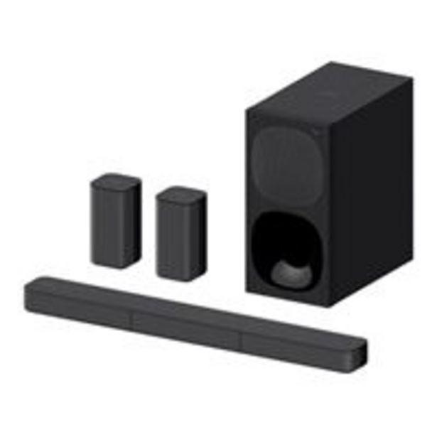 Oferta de Barra de sonido Sony HT-S20R por 209,9€