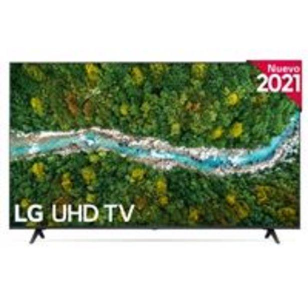 Oferta de TV LED 55'' LG 55UP77006LB 4K UHD HDR Smart TV Gris por 549,9€