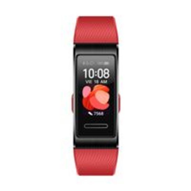 Oferta de Smartband Huawei Band 4 Pro Rojo por 58,97€