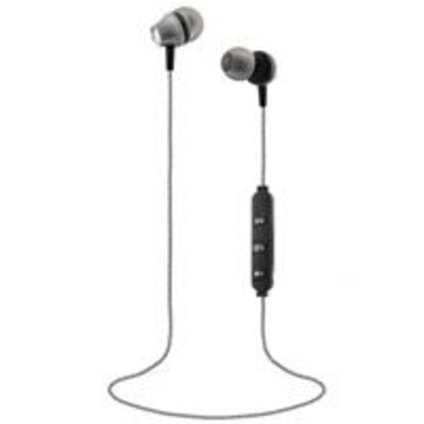 Oferta de Auriculares Bluetooth T'nB Steel Gris por 16,97€