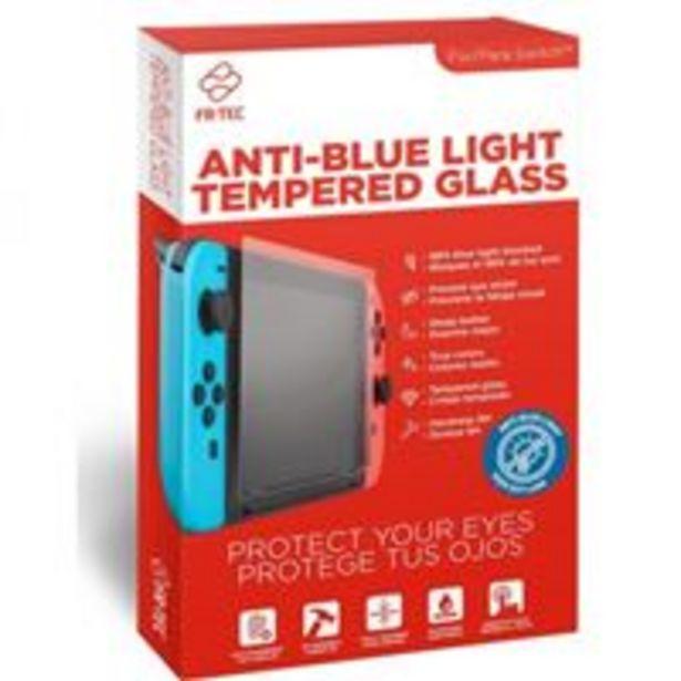 Oferta de Protector de pantalla Cristal templado Anti-luz para Nintendo Switch por 3,99€