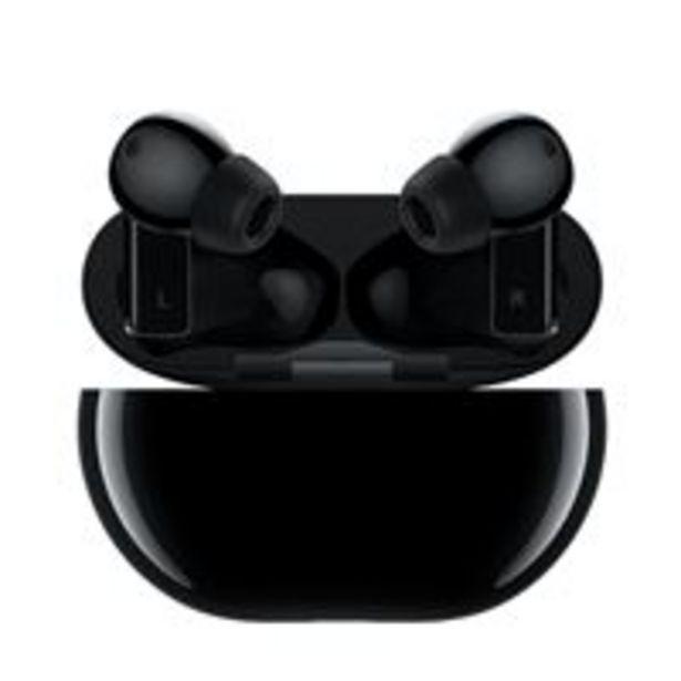 Oferta de Auriculares Noise Cancelling Huawei Freebuds Pro Negro por 129,99€