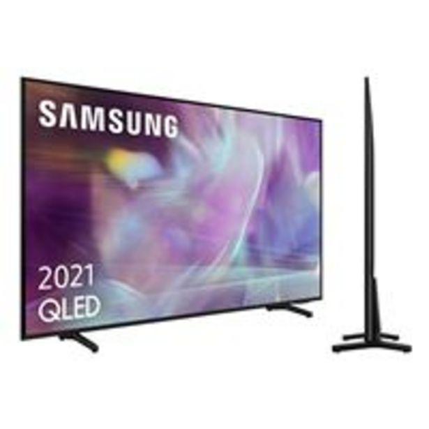 Oferta de TV QLED 43'' Samsung QE43Q60A 4K UHD HDR Smart TV por 699,9€